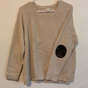 J. Crew Sweater with Elbow Patches